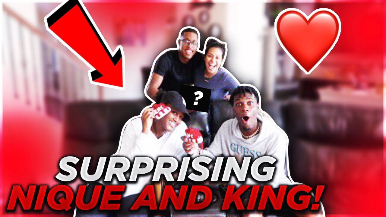 SURPRISING NIQUE AND KING (Emotional)
