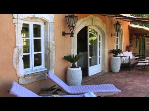A beautiful and very private house to rent in the Cote d'Azur