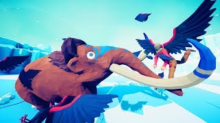 One Scarecrow Can Take Down The Mammoth  Totally Accurate Battle Simulator Tabs