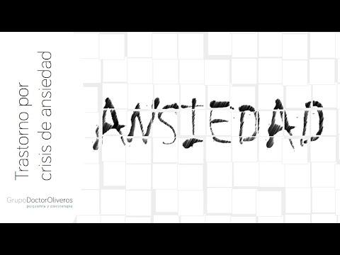 Ansiedad: Trastorno por crisis de ansiedad y agorafobia Dr.Sergio Oliveros, Psiquiatra. Madrid