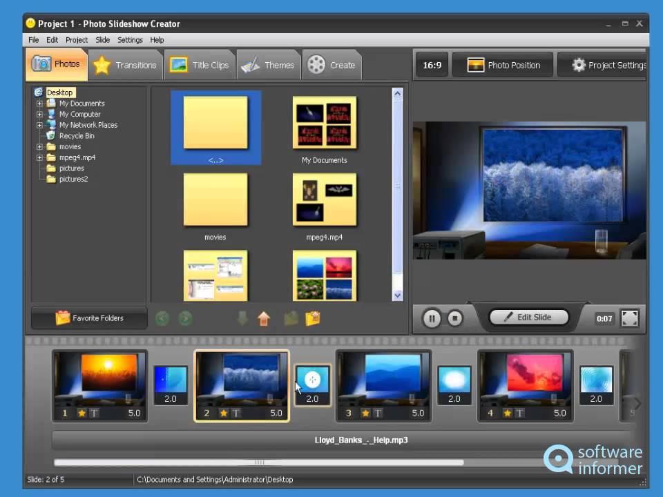 quick photo slideshow