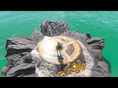 The Legend of Zelda Breath of the Wild - Eventide Island Trial