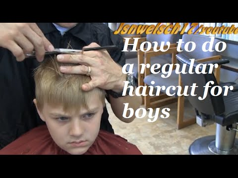 How To Do A Regular Haircut For Boys Blonde Radial Hairstyle 2014