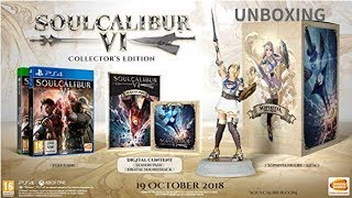 Soul Calibur 6 Collector's Edition Unboxing