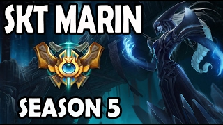 SKT T1 MaRin Lissandra vs Irelia TOP Ranked Challenger Korea