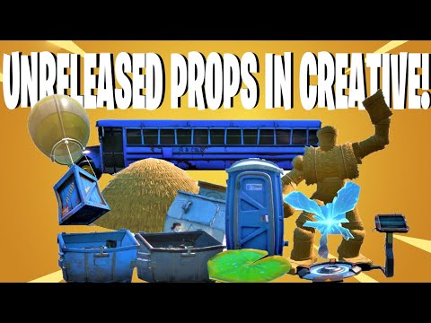 How To Get UNRELEASED PROPS & DEVICES In Fortnite Creative!