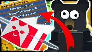 *NEW* UPDATE, FREE OP CODE, CRIMSON BEE, BADGES | Roblox Bee Swarm Simulator