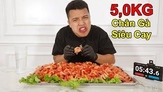 NTN - Tôi Đã Ăn Hết 5KG Chân Gà Rút Xương Siêu Cay (I Ate At Most 5 KG Of Super Spicy Chicken)