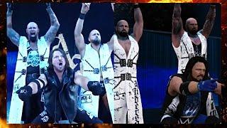 WWE 2K17 : Future Stars DLC Entrances Comparison! #WWE2K17