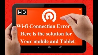 Fix Authentication Problem/Authentication Error Occurred in Android|Tablet