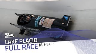 Lake Placid | BMW IBSF World Cup 2019/2020 - 2-Man Bobsleigh Heat 1 | IBSF Official