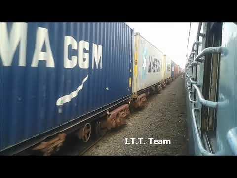 Mumbai Largest Transport Train - दुनियाकी सबसे बड़ी रेल मालगाड़ी