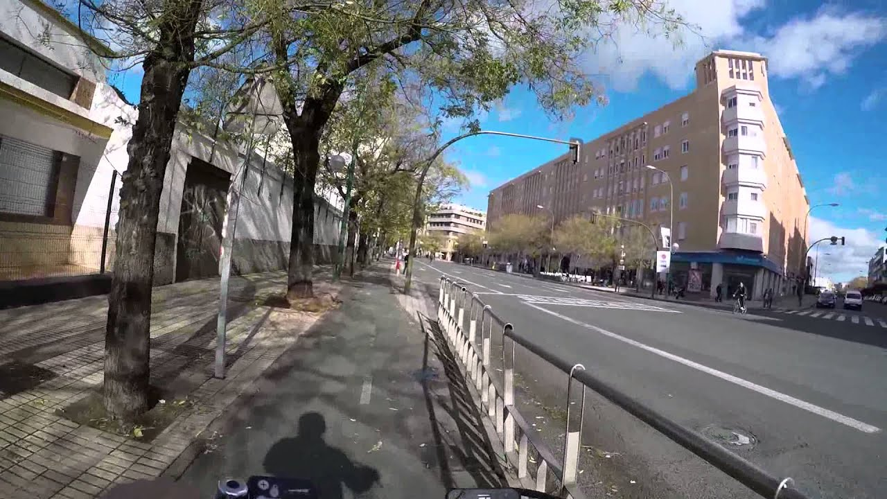 Cycling in sevilla calle torneo calle luis montoto - Calle correduria sevilla ...