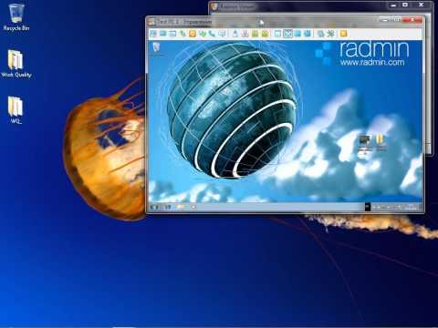 видео: Удаленное управление компьютером с помощью radmin