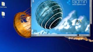 Удаленное управление компьютером с помощью Radmin(Radmin - это одна из лучших программ удаленного администрирования для платформы Windows, которая позволяет полноц..., 2011-09-08T12:18:03.000Z)