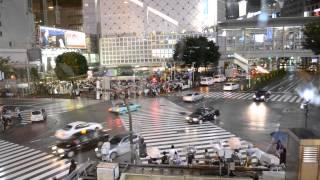 Tokyo Time - Shibuya Crossing
