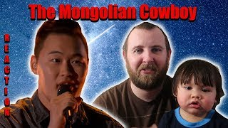 The Mongolian Cowboy STUNS Faith Hill - Enkh Erdene's World's Best Audition REACTION