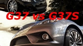 G37 vs G37S features