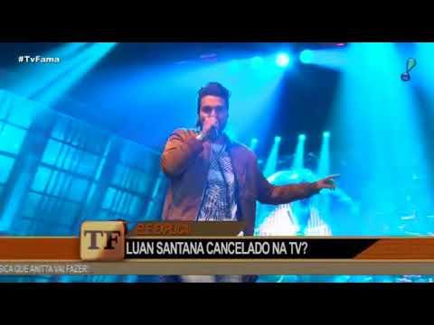 TV FAMA - Luan Santana fala sobre novos projetos especial na globo e mais - 2509