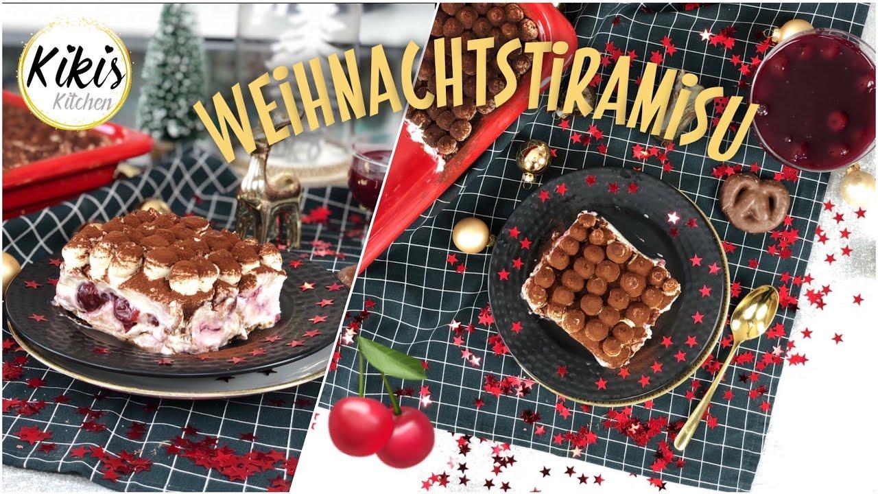 Tiramisu Weihnachtsedition Lebkuchentiramisu Mit Kirschen Und