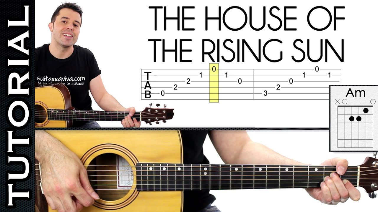 Animals House Of The Rising Sun Harmonica Tabs House