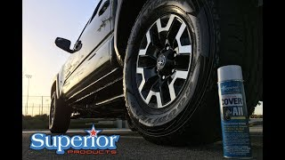 NEVER use tire shine AGAIN!? | COVER ALL TIRE SHINE try this instead