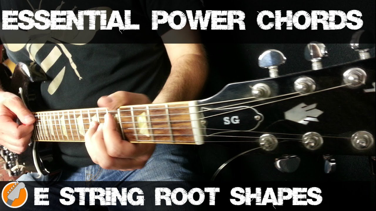 Power Chords On Guitar Youtube