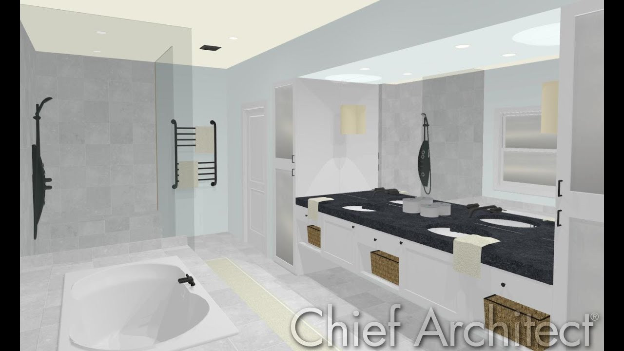 home designer 2016 - bathroom design webinar - youtube