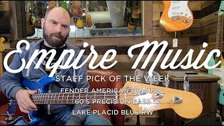 Staff Pick Of The Week - Fender American Original 60's P Bass