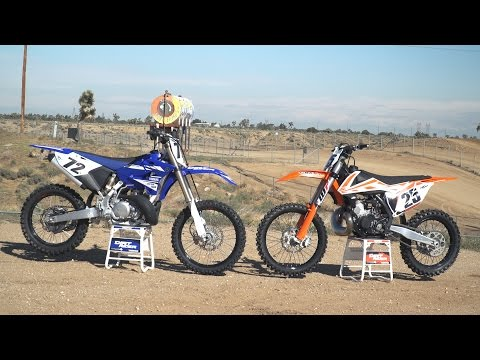 2017 KTM 250 SX vs 2017 Yamaha YZ250 | Dirt Rider 250cc Shootout