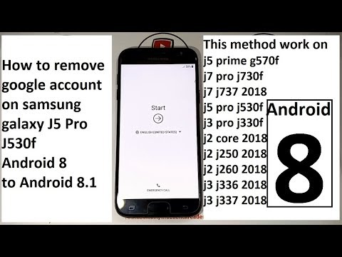 how to remove google account on samsung galaxy j5 pro j530f
