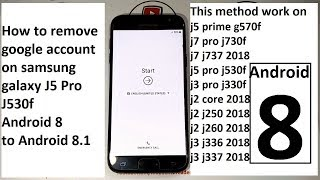 Download How To Remove Google Account On Samsung Galaxy J5 Pro J530f