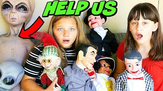 ATTACK OF THE VILLAINS! Slappy's Back with Slappy Family! EVIL ELF & ALIEN MOM RETURN!