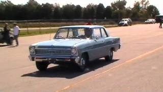 66' L79 Chevy II- Pure stock drags 2011