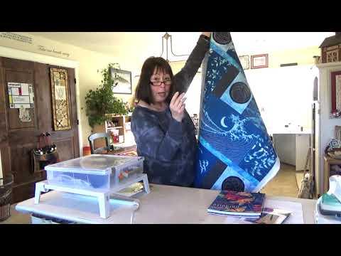 Sashiko Stitching Demo