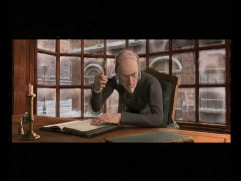 Disney's A Christmas Carol - La sorpresa di Cratchit (clip dal film)
