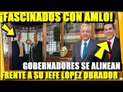 ¡GOBERNADORES PRIANISTAS PRESUMEN A SU PRESIDENTE! SE ALINEAN ANTE AMLO - ESTADISTICA POLITICA