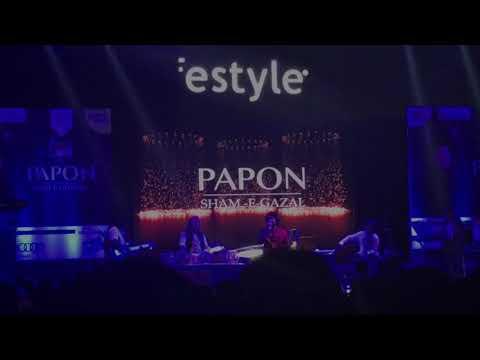Aaj Jaane Ki Zid Na Karo By Papon   Ghazal   Concert   Live   Pune  