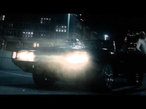 Fast 7 movie clip - The Rock breaks his cast