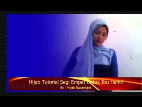 2015 ? Cara Pemakaian Hijab Segi Empat Untuk Ibu Hamil Mudah dan Simple