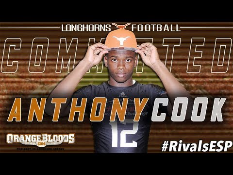 5-Star CB Anthony Cook commits to Texas