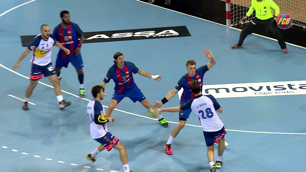 43fe79b7876 HIGHLIGHTS  HANDBALL (ASOBAL)  FC Barcelona-BM Granollers (37-26 ...