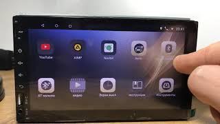 Новый обзор Автомагнитолы Pioneer Pi 707 на Android 8.1.0 2019 года