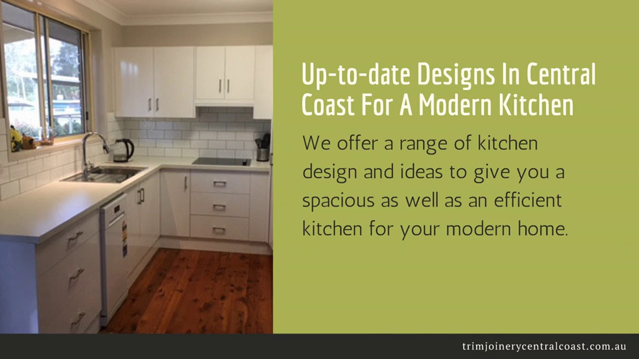 Innovative Kitchen Designs For Properties In Central Coast