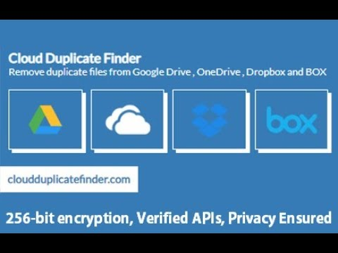Duplicate File Finder For Dropbox: An Online, Cloud-Based Service To