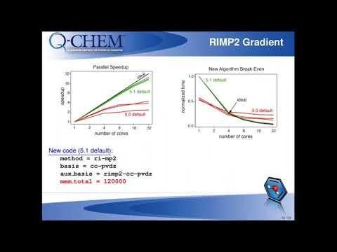 Webinar 28:  A Preview of Q Chem 5 1