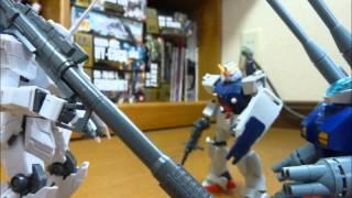 [コマ撮りアニメ] 戦場のユニコーン 第一話「白き一角獣」