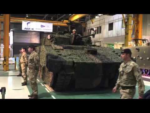 Презентация новой семейства бронетехники Ajax/Scout SV