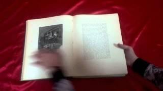 Антиквариат. Антикварная книга Мертвые Души, 1900 год.(Обзор антикварной книги