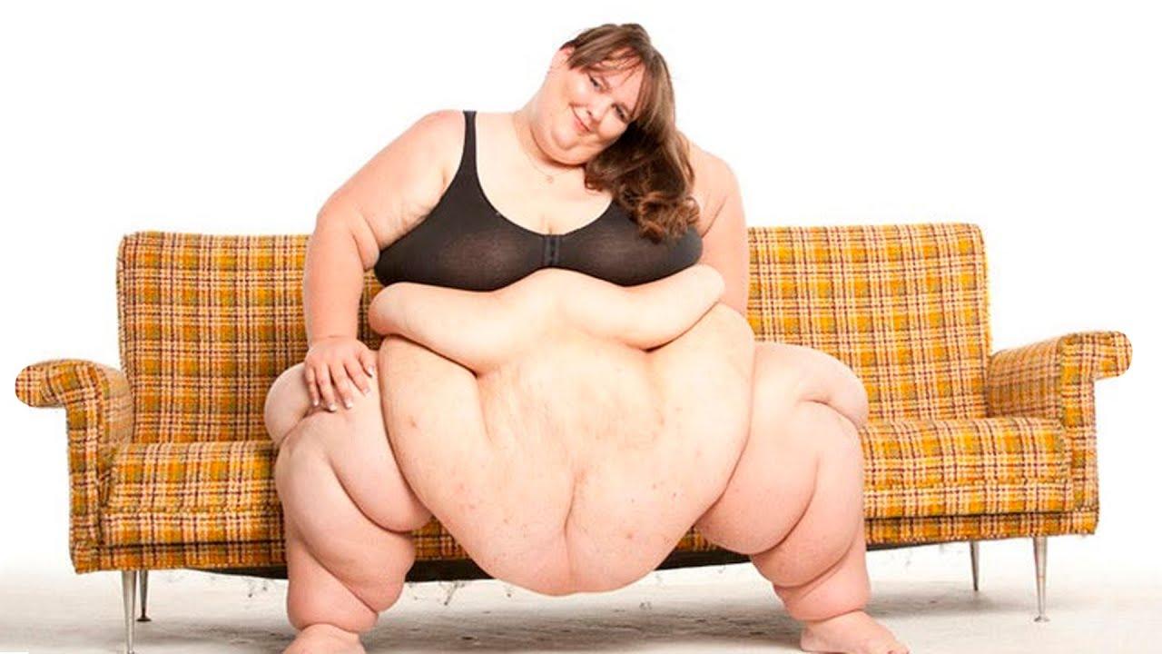 Очень толстые девушки на видео